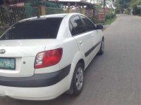 Fresh 2008 Kia Rio MT White Sedan For Sale