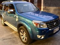 Ford Everest 4X2 DSL AT 2010 Blue For Sale
