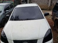 Kia Rio EX 2008 MT White Sedan For Sale