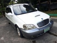 Kia carnival park Limited edition 2003model diesel for sale
