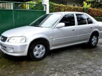Honda City Type Z 2002 AT Silver For Sale