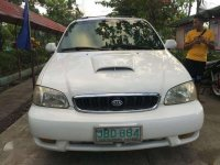 2005 Kia Carnival white for sale