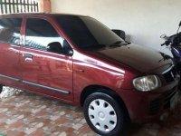 Suzuki Alto Deluxe 2010 MT Red HB For Sale