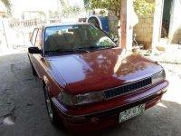 Toyota Corolla GL 1991 MT Red Sedan For Sale
