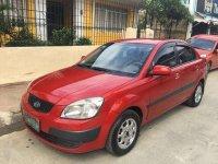 Fresh KIA RIO 2008 MT Red Sedan For Sale