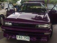 1991 Toyota Corolla XL Manual Purple For Sale