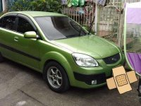 Kia Rio 2006 Top of the line Green Sedan For Sale