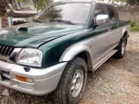 Mitsubishi Strada endeavor manual 4x4 2002 diesel for sale