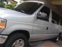 2014 FORD E-150 4.6L Club Wagon Silver For Sale