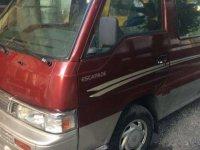 2001 Nissan Urvan escapede FOR SALE