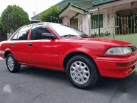 Toyota Corolla Smallbody 1991 Red For Sale