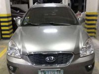 Kia Carens 2011 EX AT Silver SUV For Sale