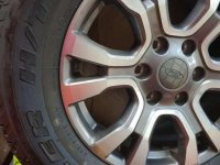 Ford ranger tires with mags
