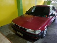Toyota Corolla 1991 model XL5 Red For Sale