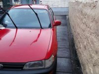 Toyota Corolla XE 1991 Model Red For Sale