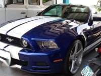 2011 Ford Mustang MT Blue Coupe For Sale