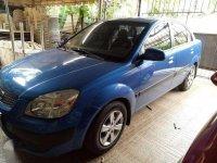 KIA RIO 2008 Blue Sedan For Sale
