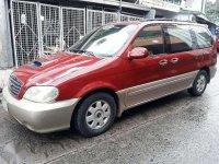 2002 Kia Sedona Carnival Ls AT Diesel