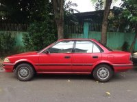 FOR SALE: Toyota Corolla GL Red 91 model