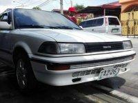 Toyota Corolla small body 1991 All manual