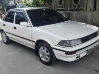 Toyota COROLLA small body 1991 2e engine All manual