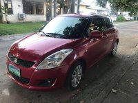 Red Suzuki Swift 2013 for sale