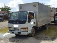 2009 Isuzu Elf 4HF1 Aluminum Van 6 Wheeler for sale