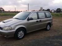 Kia Carnival 1998 model 2.9 turbo intercooler diesel engine
