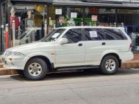Ssangyong Musso Sale Gas 1997 FOR SALE