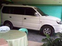 2014 Mitsubishi Adventured white for sale