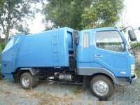 1998 Mitsubishi Fuso Recon Fighter 4 tons Garbage Compactor 6M61
