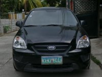 Black Kia Carens 2009 for sale