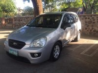 Selling Silver Kia Carens 2007 in Marikina