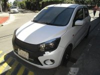 Selling White Suzuki Celerio 2017 Automatic Gasoline for sale