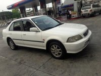 Selling White Honda City 1998 for sale in Manual