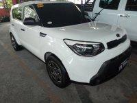 Selling White Kia Soul 2017 Manual Diesel in Quezon City