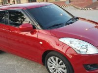 Selling Red Suzuki Swift 2014 Manual Gasoline in Trece Martires