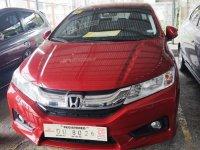 Selling Red Honda City 2017 Sedan Automatic Gasoline in Manila