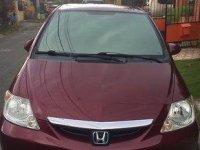 Sell Red 2003 Honda City at 200000 km