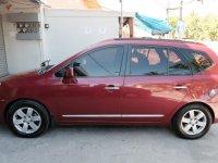 Red Kia Carens for sale in Mandaue