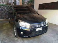 Selling Black Suzuki Celerio 2017 at 10000 km in Antipolo
