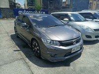 Grey Honda Civic 2014 Automatic Gasoline for sale