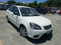 White Kia Rio 2011 for sale Manual