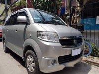 Selling Silver Suzuki Apv 2012 Manual Gasoline at 60000 km