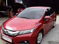 Red Honda City 2017 at 15000 km for sale