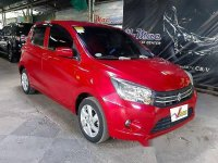 Red Suzuki Celerio 2017 at 46000 km for sale