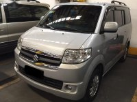 Selling 2nd Hand Suzuki Apv 2014 Manual Gasoline at 30000 km in Quezon City