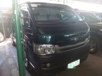 Selling Green Toyota Hiace 2009 Manual Diesel at 77980 km in Manila