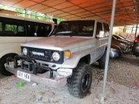 Silver Toyota Land Cruiser Prado 2003 Manual Diesel for sale
