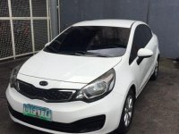 2nd Hand Kia Rio 2012 Manual Gasoline for sale in Marikina